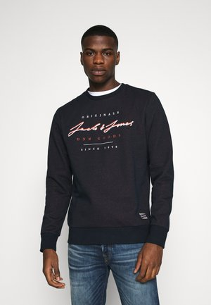 JORSTATION CREW NECK - Sweatshirts - navy blazer