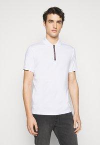 Michael Kors - LOGO ZIP - Polo shirt - white - 0