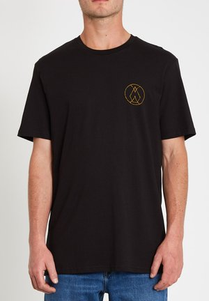INNER STONE BSC SS - T-shirt print - black