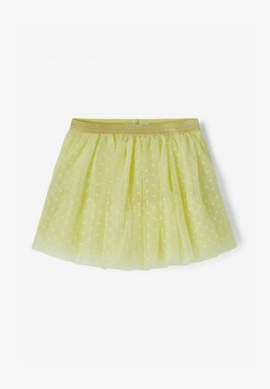 A-line skirt - yellow pear