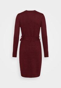Anna Field - Shift dress - dark red - 6