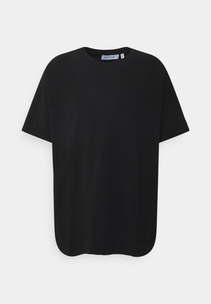 PLUS SHORT SLEEVE CREW NECK  - Jednoduché triko - black