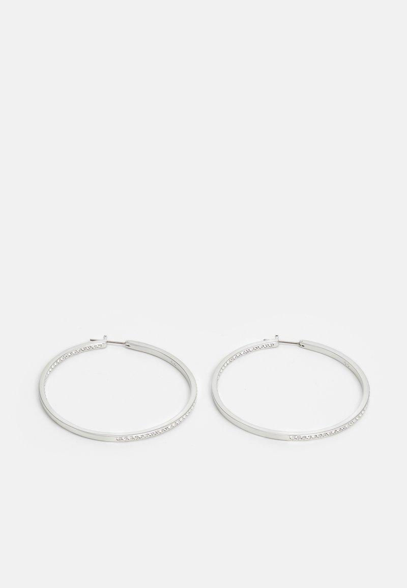 Swarovski - RARE HOOP - Earrings - silver-coloured