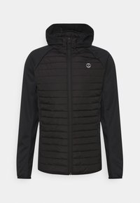 Jack & Jones - JJEMULTI QUILTED JACKET - Light jacket - black - 0