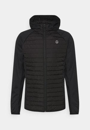 JJEMULTI QUILTED JACKET - Lehká bunda - black