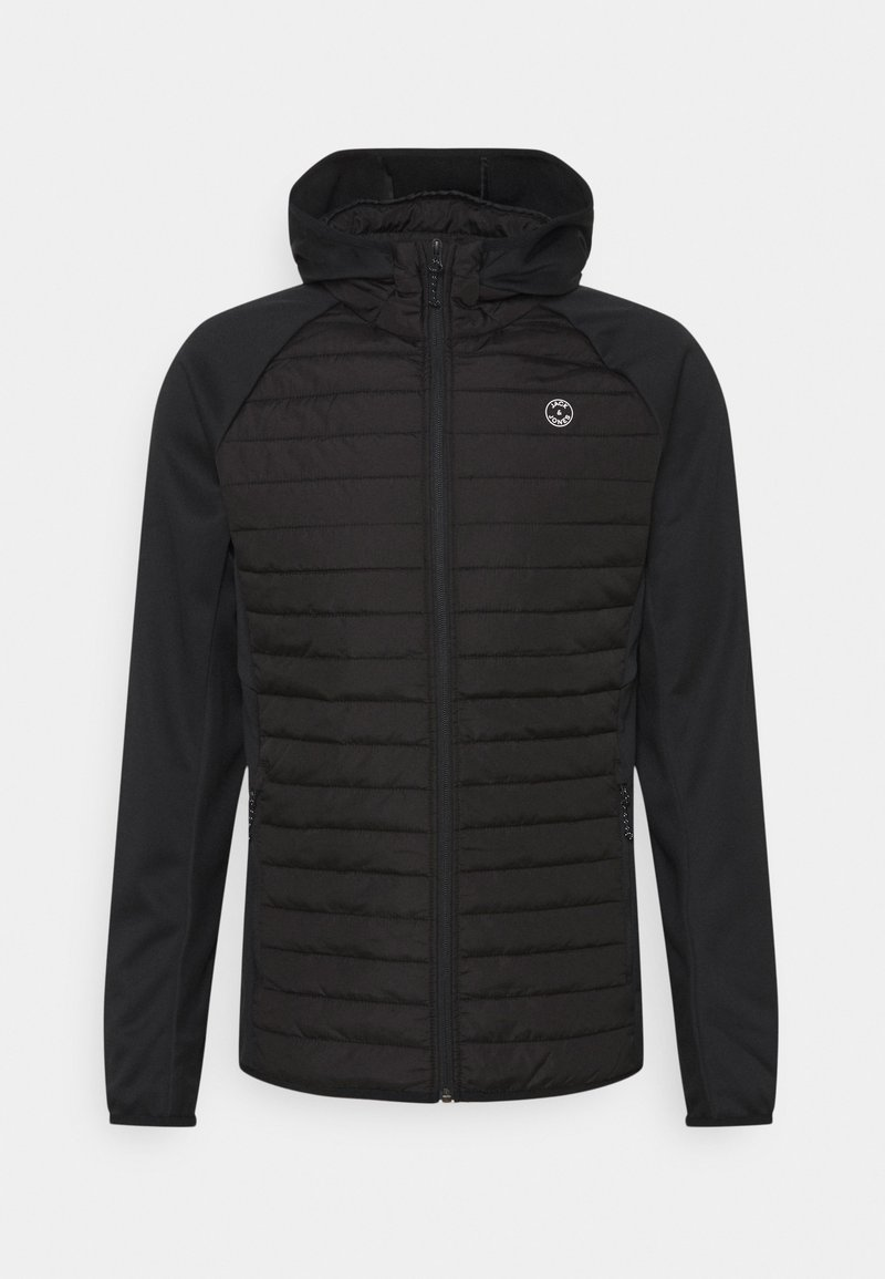 Jack & Jones - JJEMULTI QUILTED JACKET - Light jacket - black