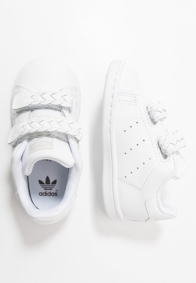 adidas Originals - STAN SMITH - Trainers - footwear white/grey one