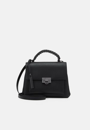 ARERRAVIA  - Handbag - jet black/antique silver-coloured