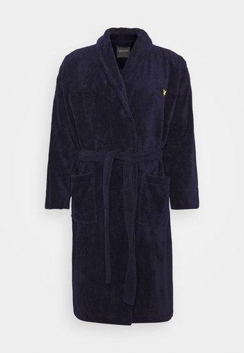 LUCAS - Dressing gown - peacoat