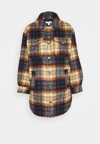 Topshop - CHECK SHACKET - Light jacket - orange - 0