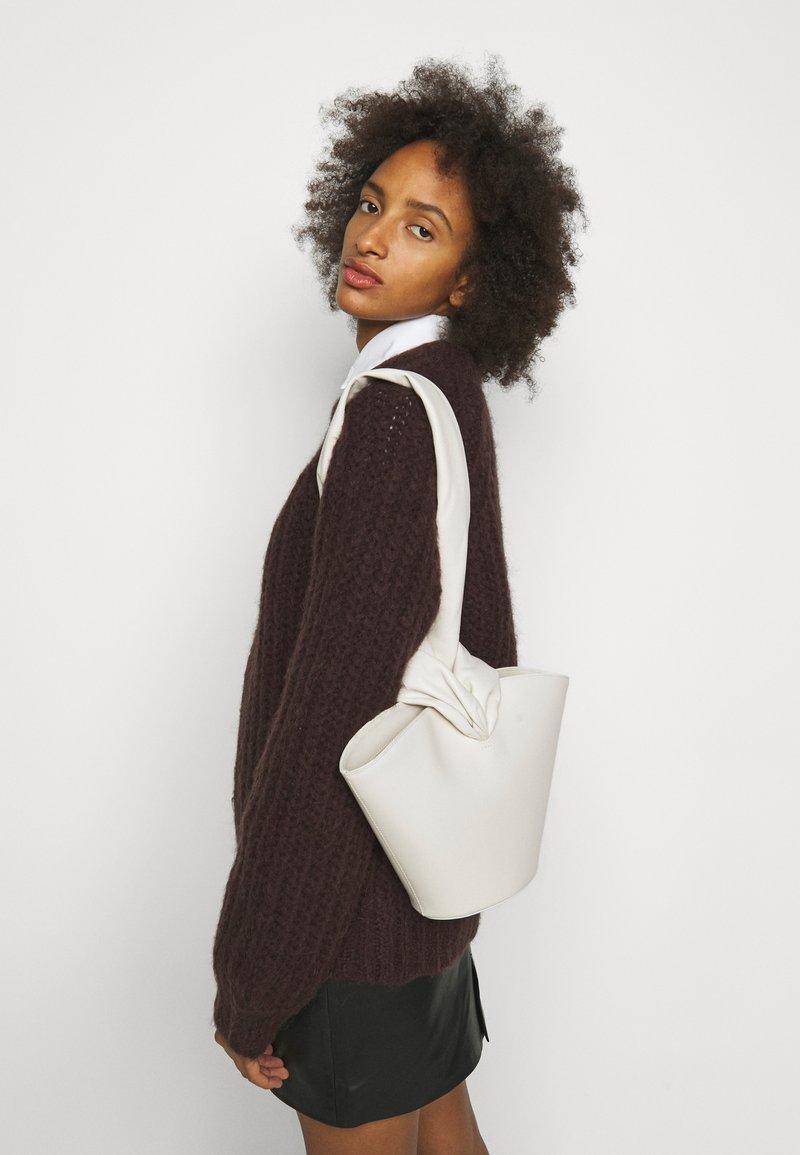Little Liffner - SOFT LOOP MINI BUCKET - Handbag - off-white
