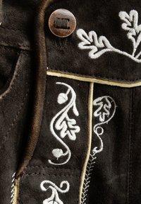 Almsach - Leather trousers - schwarz - 3
