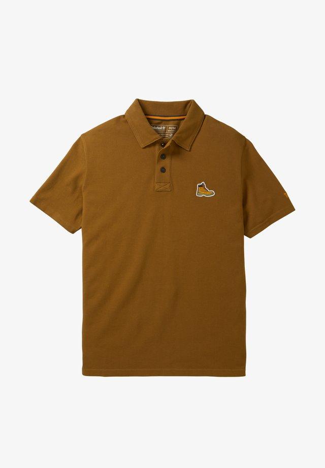 BOOT LOGO - Koszulka polo - rubber