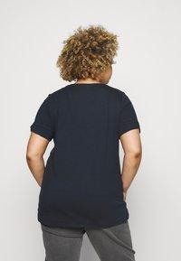MY TRUE ME TOM TAILOR - CUFF DETAIL - T-shirt imprimé - sky captain blue - 2