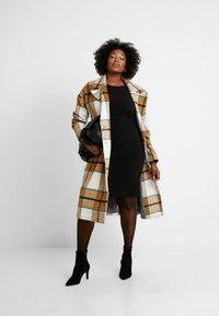 Dorothy Perkins Curve - EMPIRE WAIST DRESS - Jerseyjurk - black - 1
