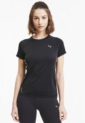 LITE LASER CAT TEE - Print T-shirt - Black