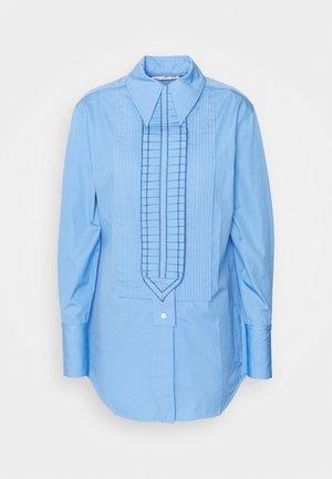 TUXEDO RUFFLE - Košile - oxford blue
