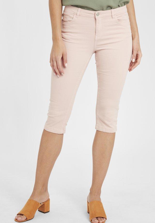 BYLOLA BYLIKKE CAPRI - Shorts di jeans - pale blush