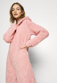 Loungeable - PINK TEDDY SHERPA ONESIE - Overall / Jumpsuit /Buksedragter - pink - 2