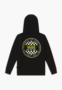 Vans - CHECKER BOYS - Bluza z kapturem - black/sulphur spring - 1