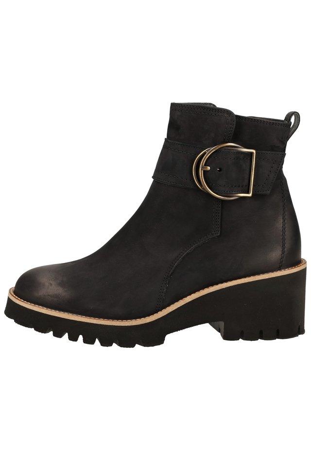 STIEFELETTE - Boots à talons - blau 027