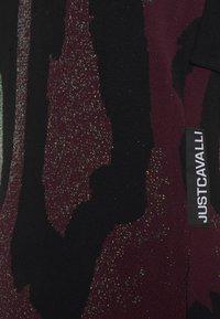 Just Cavalli - Pletené šaty - plum perfect - 2