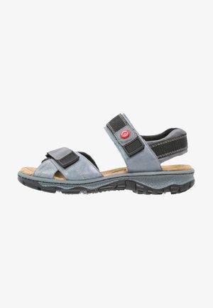 Walking sandals - white denim