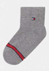 Tommy Hilfiger - FLAG 4 PACK UNISEX - Socks - light grey melange - 1