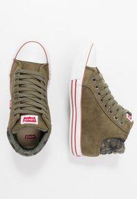 Levi's® - NEW YORK - Sneakers high - khaki - 0