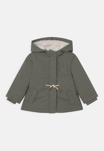 Zimní bunda - loden green