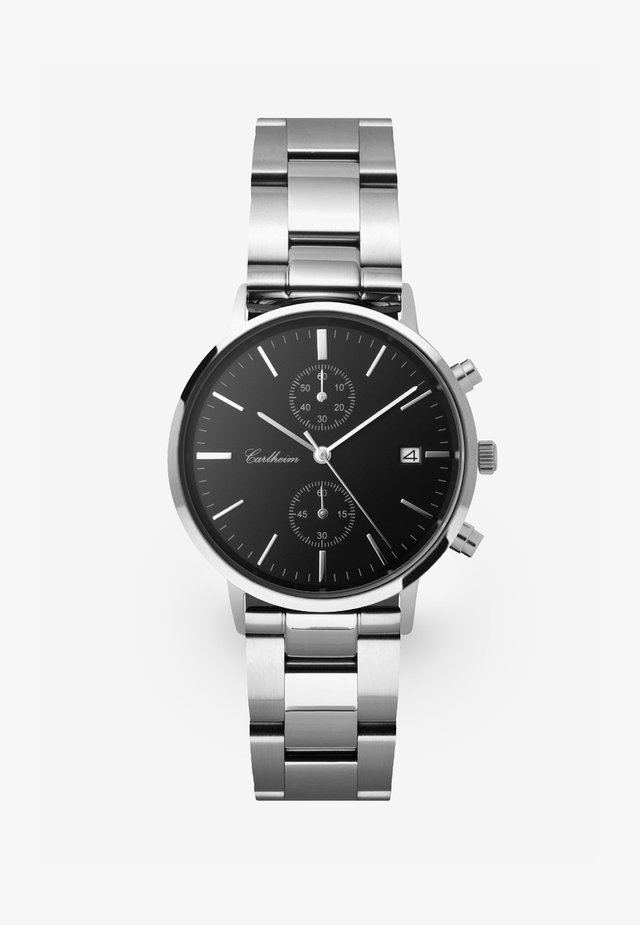 TILFREDSHED 40MM - Watch - silver-black