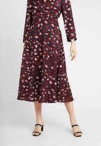 ZIGGY Denim - SLIP SKIRT - A-line skirt - electric - 0