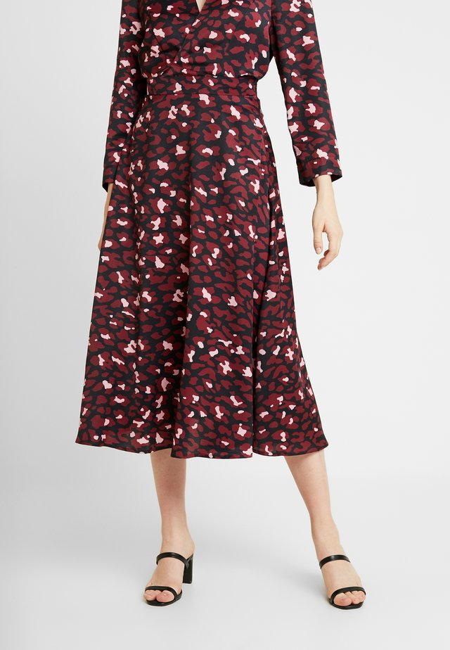 SLIP SKIRT - A-linjainen hame - electric