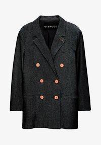 Uterqüe - Short coat - blue - 5
