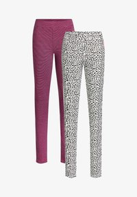 WE Fashion - 2 PACK - Leggings - Trousers - multi coloured - 4