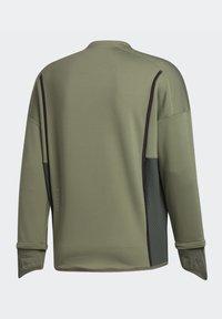 adidas Performance - PRIME COLD.RDY TOP CREW SWEATSHIRT - Sudadera - green - 12