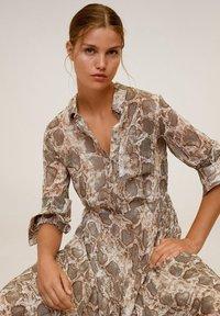 Mango - SERPI - Robe chemise - braun - 3