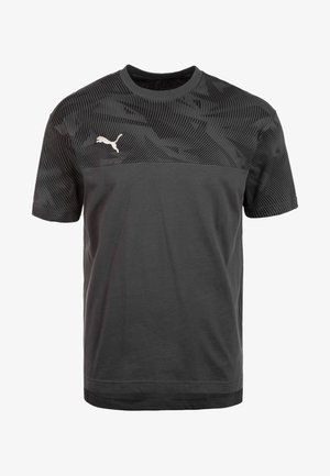 CUP CASUALS TRAININGSSHIRT - Sports shirt - anthracite