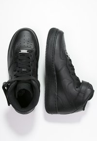 Nike Sportswear - AIR FORCE 1 MID '07 - Korkeavartiset tennarit - black - 1