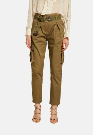 Pantaloni cargo - Verde