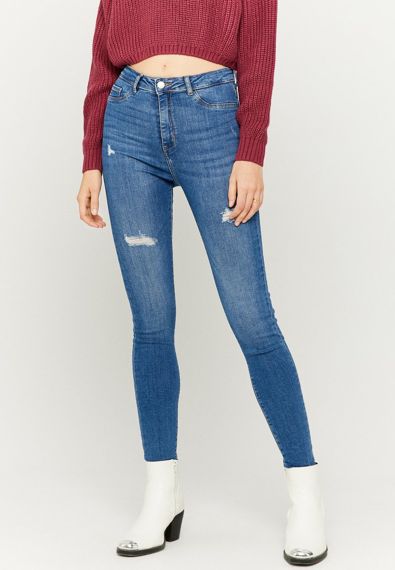 TALLY WEiJL - Jeans Skinny Fit - blue denim