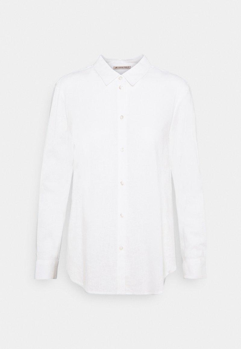 Anna Field - Linen Shirt - Košile - white