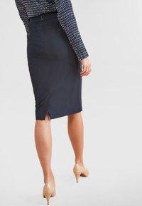Next - Pencil skirt - blue - 2
