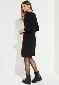 comma casual identity - MIT STREIFEN - Day dress - black - 2