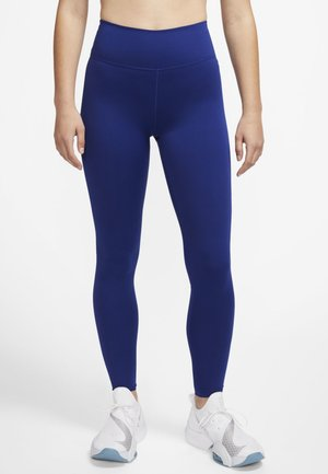 ONE LUXE - Tights - deep royal blue/noble red
