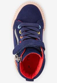 Next - ELASTIC LACE HIGH TOP - Zapatillas altas - blue - 1