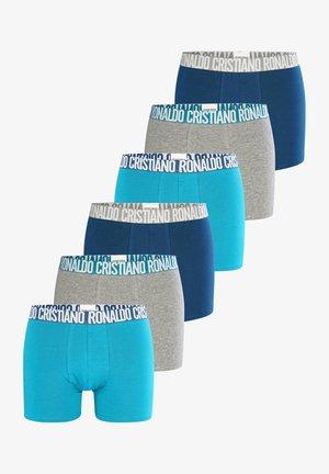 CRISTIANO RONALDO  6-PACK - Shorty - blau grau