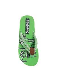 Camp David - MUSTERPRINT - T-bar sandals - kiwi green - 3