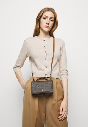 JET SET CHARM PHONE XBODY - Bolso de mano - brown/acorn