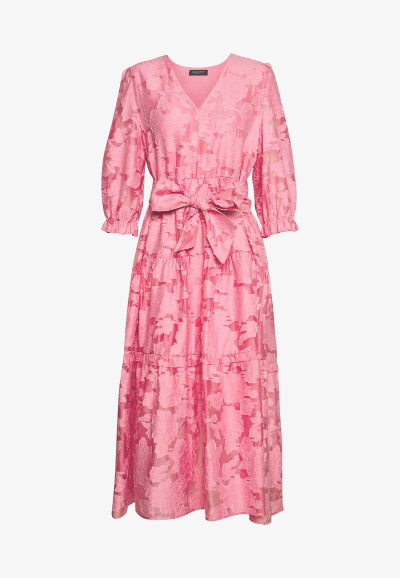 Selected Femme - SLFSADIE MIDI DRESS - Day dress - rosebloom